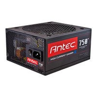 Antec High Current Gamer 750W 80 Plus Bronze Hybrid Modular Power Supply