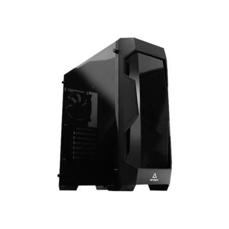 Antec DF-500 Gaming Case with Front & Side Windows  ATX No PSU Tinted Tempered Glass Black