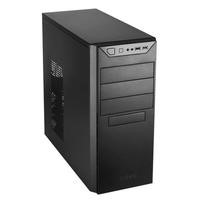 Antec VSK4000B0-U3/U2 Mid Tower Case in Black with Black Interior