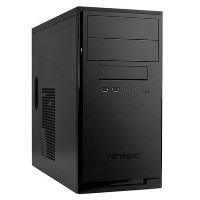 Antec NSK3100 Micro ATX Case No PSU USB 3.0 1 x Fan Matte Black