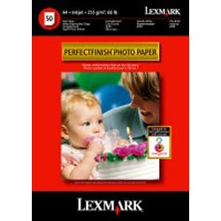 Lexmark PerfectFinish Photo Paper - photo paper - 100 sheet(s)