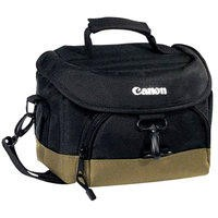 Canon 100EG Deluxe Waterproof Gadget DSLR Camera Bag in Back