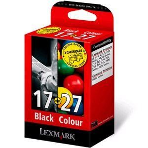 Lexmark Combo Pack #17 + #27 - print cartridge