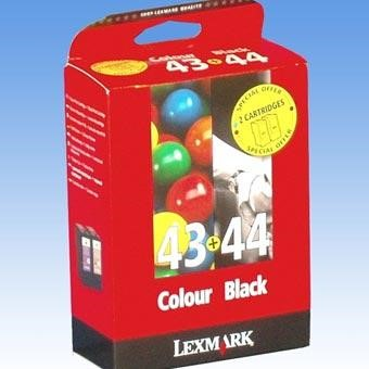 Lexmark Combo Pack #43  #44 - print cartridge