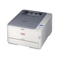 Oki A4 Colour Laser Printer 30ppm mono 26ppm colour 1200 x 600dpi 64MB Memory 3 Years Warranty
