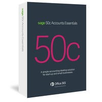 Sage 50c Accounts Essentials Box - 12 month Subscription