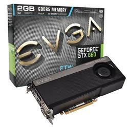 EVGA 2GB GEF GTX 660 FTW GDDR5 Graphics Card