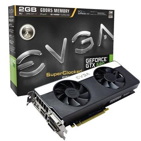 EVGA 2GB GEF GTX 680 SC SIGNATURE2 Graphics Card