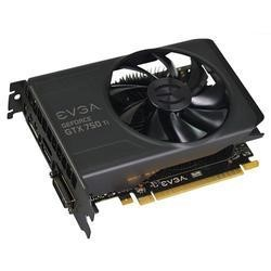 EVGA NVidia GeForce GTX 750 Ti 2GB GDDR5 Graphics Card