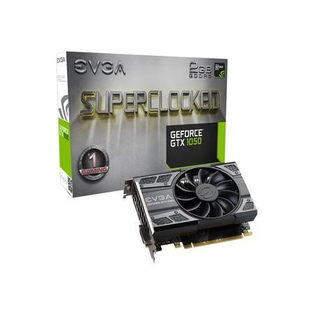 EVGA SC GeForce GTX 1050 2GB GDDR5 Graphics Card