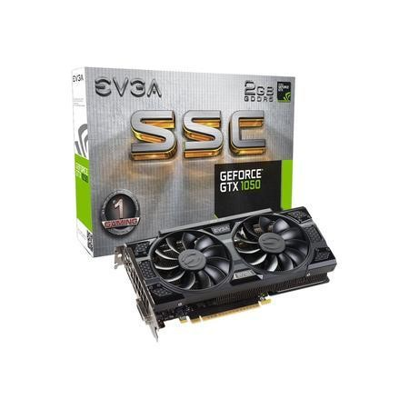 EVGA GeForce GTX 1050 SSC 2GB GDDR5 Graphics Card
