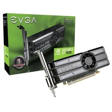 EVGA SC GeForce GT 1030 2GB GDDR5 Low Profile Graphics Card