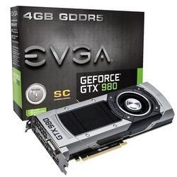 EVGA GeForce GTX980 Superclocked 4GB Graphics Card