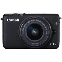 Canon EOS M10 Compact Mirrorless Camera + EF-M 15-45mm Lens