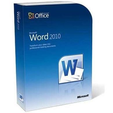Microsoft® Word 2010 Sngl OPEN 1 License Level C