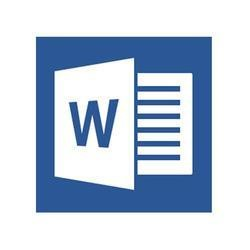 WORD 2013  LICENSE LEVEL C