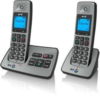 BT 2500 Cordless Telephone with Answer Machine - Twin