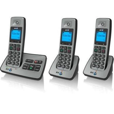 BT 2500 Cordless Telephone with Answer Machine - Trio