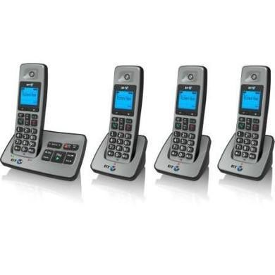 BT 2500 Cordless Telephone with Answer Machine - Quad