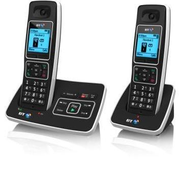 BT 6500 Cordless Telephone with Answer Machine - Twin
