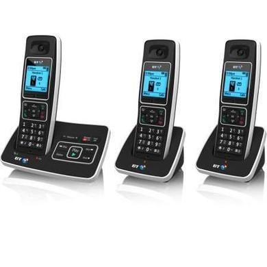 BT 6500 Cordless Telephone with Answer Machine - Trio