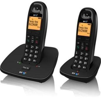 BT 1000 Cordless Telephone - Twin