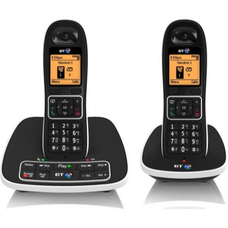 BT 7600 Cordless Telephone with Answer Machine - Twin
