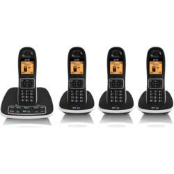 BT 7600 Cordless Telephone with Answer Machine - Quad