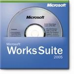 Microsoft Works - licence and media