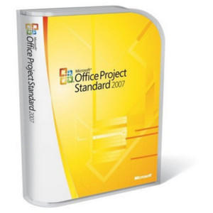 Microsoft Office Project Standard 2007 - complete package