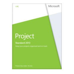 Microsoft Project 2013 32-bit/64-bit English Medialess Licence