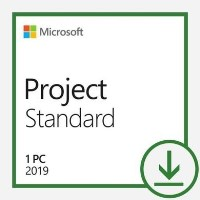 Microsoft Project Standard 2019 - 1 PC Device - Electronic Download