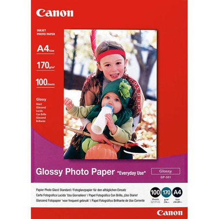 Canon GP 501 - glossy photo paper - 100 sheets