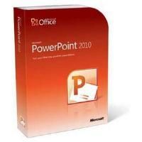 Microsoft PowerPoint 2010 32bit/64Bit English DVD - 1 User