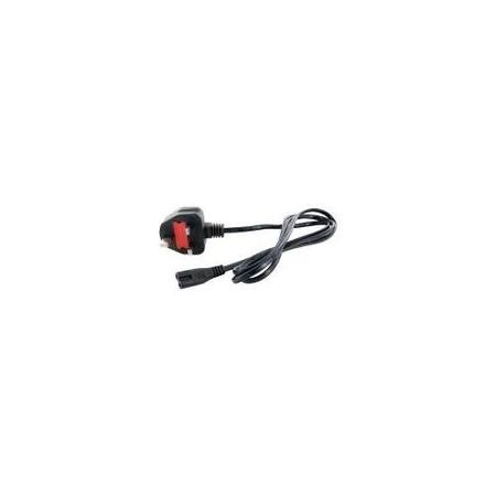 UK POWER CORD 2 PIN FIG8 1.5M
