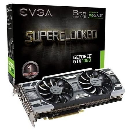 EVGA SC ACX3.0 GeForce GTX 1080 8GB GDDR5X Graphics Card
