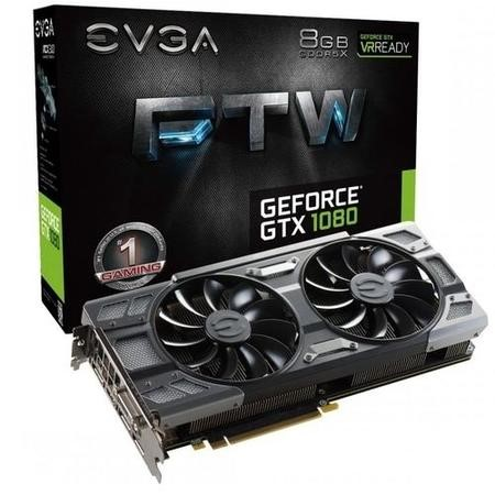 EVGA FTW ACX3.0 GeForce GTX 1080 8GB GDDR5X Graphics Card