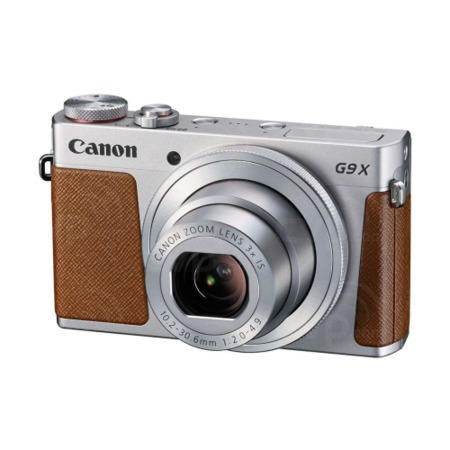 Canon PowerShot G9X Compact Digital Camera - Silver