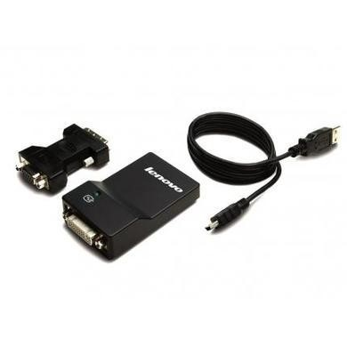 Lenovo USB 3 TO DVI/VGA MONITOR ADAPTER
