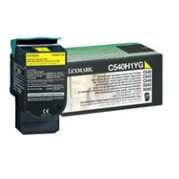 Lexmark High Yield Yellow Toner Cartridge