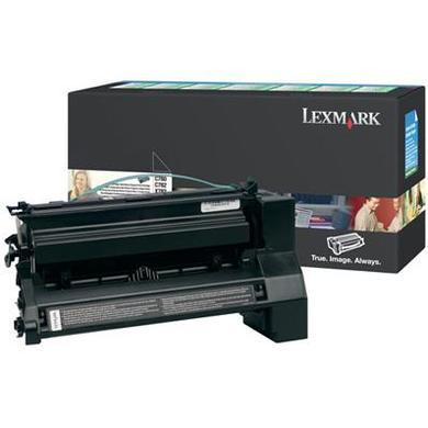 Lexmark Hi-Cap Black Return Cart 10K C78x / X782