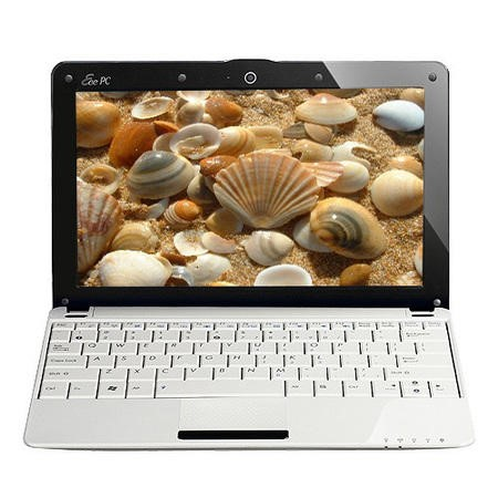 ASUS Eee PC Seashell 1101HA Netbook in White - 9.5 Hours Battery Life