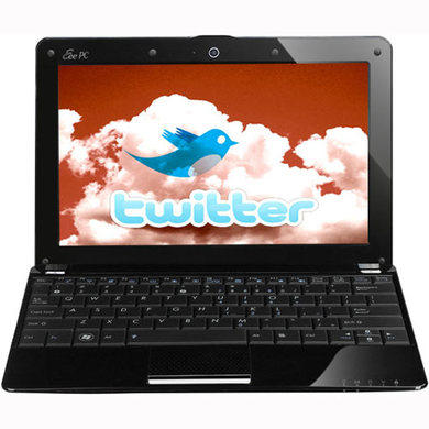 ASUS EEE PC 1005PE Windows 7 Netbook in Black