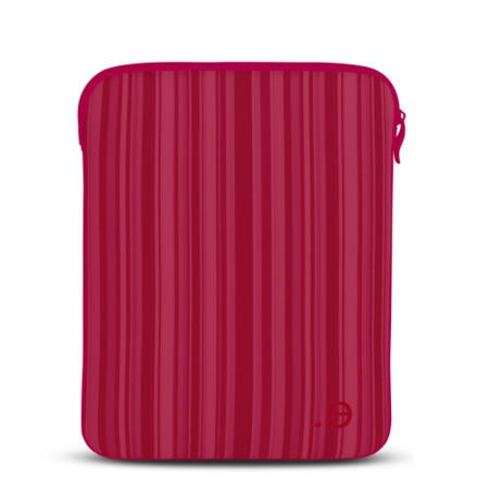 Be.ez LA robe Allure Sleeve for iPad - Red Kiss