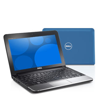 Dell Inspiron 1012 Windows 7 Netbook in Blue