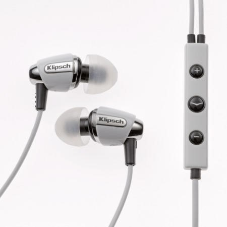 Klipsch Image S4i 3 Button In-Ear Headphones - White