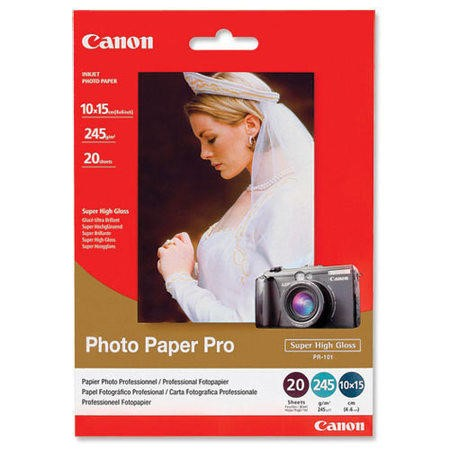 Canon Pro PR-101 - photo paper - 20 sheet(s)