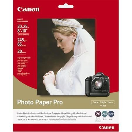 Canon Photo Paper Pro - high-gloss photo paper - 20 sheet(s)