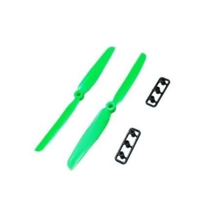 1045-Green ProFlight 1045 10x4.5 EPP CW & CCW Propeller Pair In Green