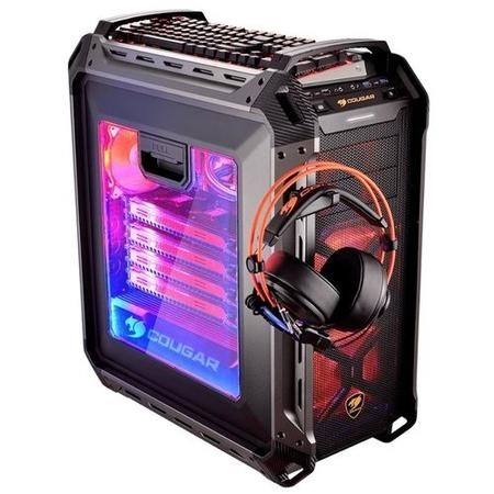 Cougar Panzer Max Full Tower Gaming Case - Black